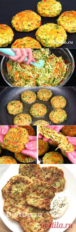 Оладьи из кабачков с сыром и чесноком на сковороде — 5 рецептов быстро и вкусно