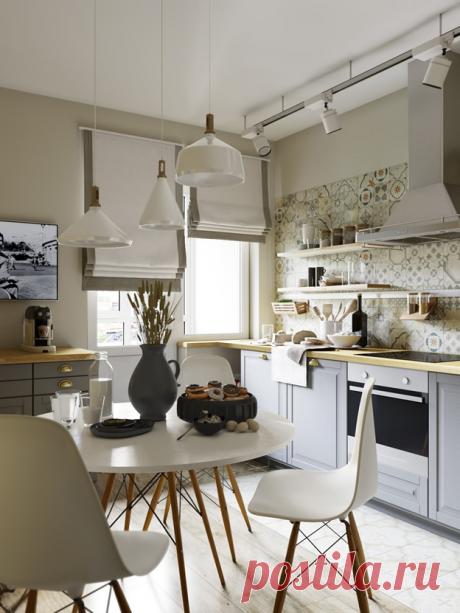 15 идеально-белых кухонь: перфекционизм в дизайне - Postel-Deluxe.ru