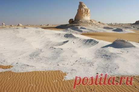 Инопланетная красота в фотографиях пустыни в Египте