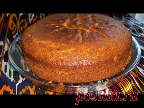 Пирог на кефире-быстрый пирог за  6 минут +выпечка /тез ва оссон пирог 6 дакикада/Катиклик пирог