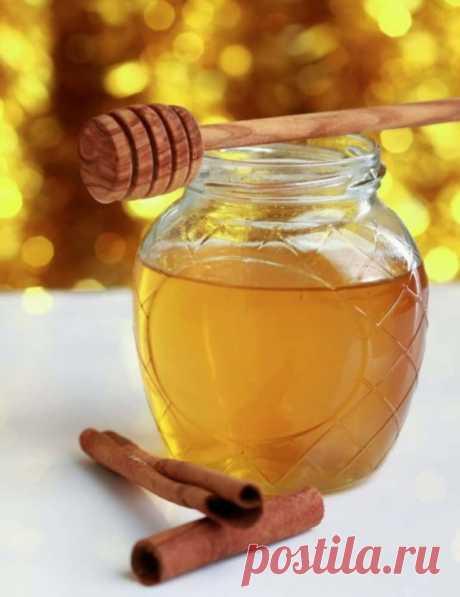 Корица и мед для профилактики