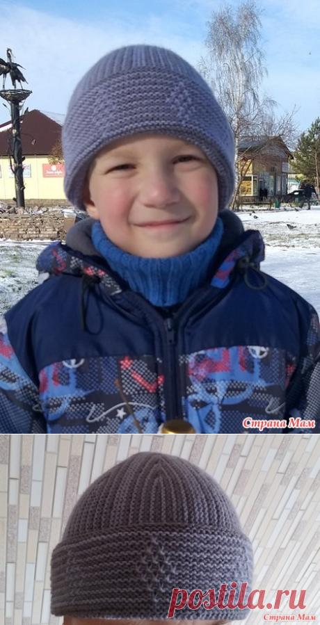 Осенние шапки для сыночка и дочки - Вязание - Страна Мам