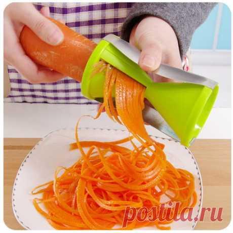 Механическая терка для моркови по корейски - 350 ₽ доставка-350 ₽