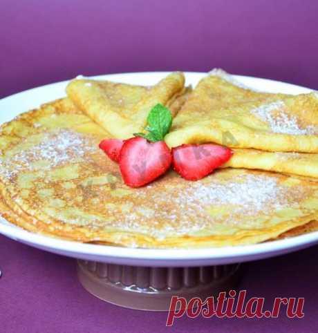 Тыквенно-апельсиновые блины рецепт с фото пошагово - 1000.menu