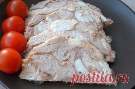Ветчина из курицы для ПП-бутербродов на 100грамм - 208.87 ккалБелки - 24.26Жиры - 12.33Углеводы - 0.22  Ингредиенты: До 1 кг курица Показать полностью…