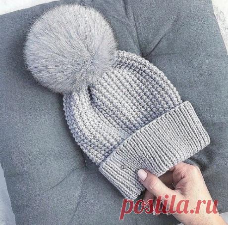 Пять зимних шапок спицами с описаниями - для вас и ваших близких | Тепло о вязании | Яндекс Дзен