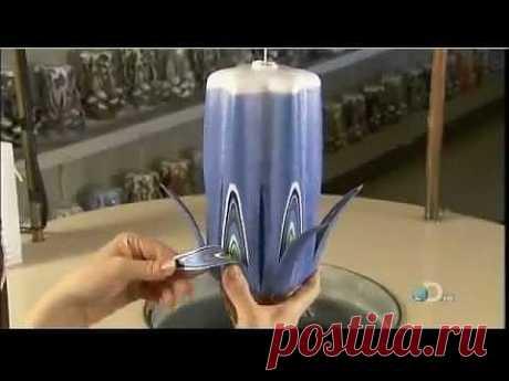 Как делают декоративные свечи