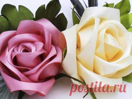 Мастер-класс смотреть онлайн: Как сделать розу из ленты | Журнал Ярмарки Мастеров Как сделать розу из ленты – бесплатный мастер-класс по теме: Do It Yourself / Сделай сам ✓Своими руками ✓Пошагово ✓С фото