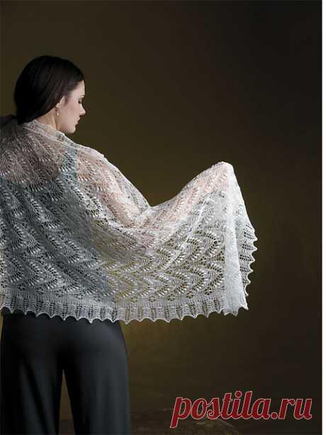 Ravelry: Queen Silvia Shawl pattern by Nancy Bush