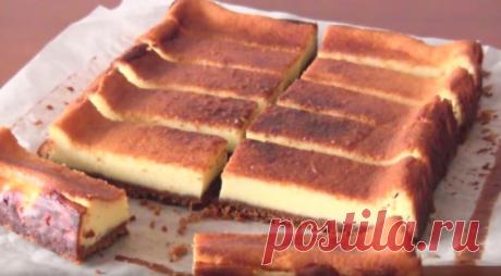 Оригинальный чизкейк на основе из вафель. Готовим вкусный десерт