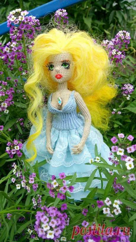 Каркасная куколка по МК Марии Смолиной куколка Бонита. Анжелика, маркиза ангелов.