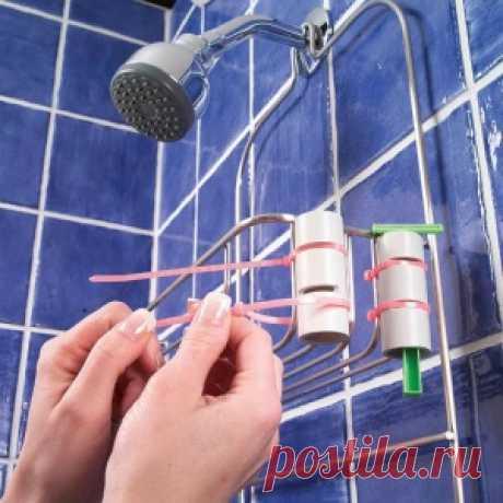 Наведите порядок в ванной комнате - 19 замечательных идей