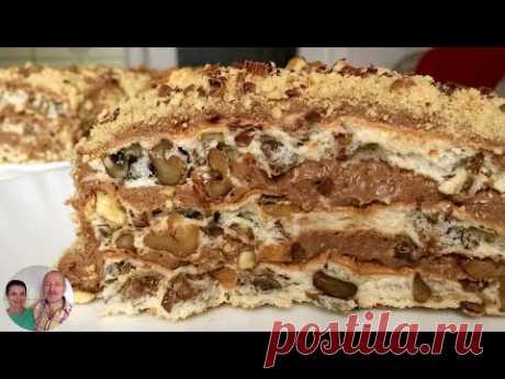 Самый вкусный Торт без муки! Королевский Торт! - YouTube