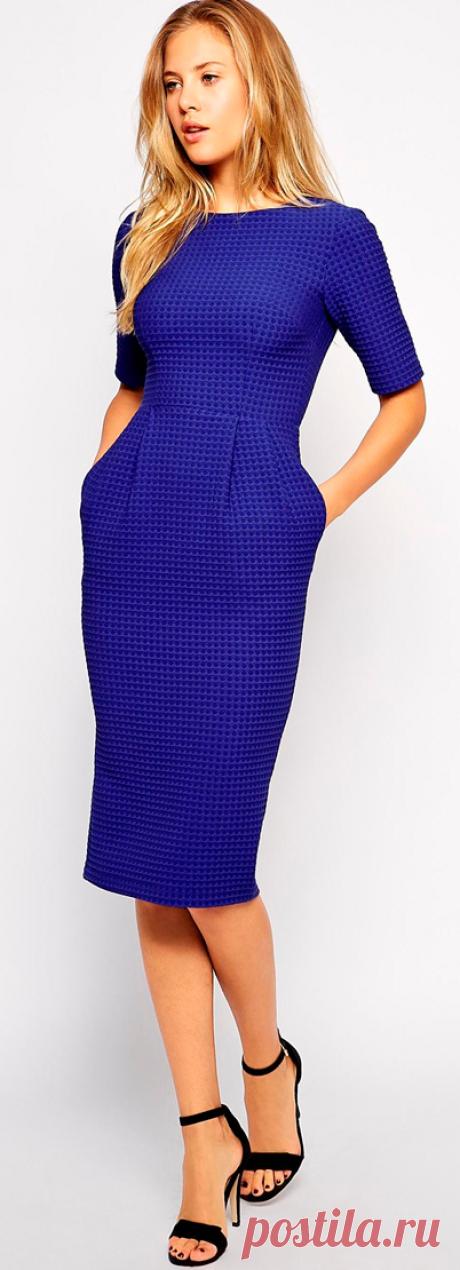 166ed1851d5 Платье-футляр для полных - выкройка № 432 из журнала 2 2015 Burda ...