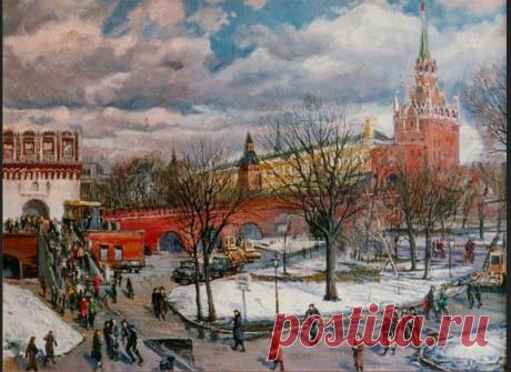 Старая Москва на картинах русских художников – 198 фотографий   ВКонтакте