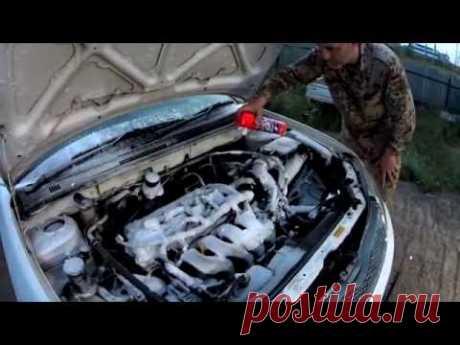 Мойка двигателя + обработка электрических контактов