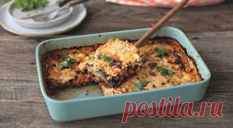 Гратен из баклажанов с сыром фета — Фактор Вкуса