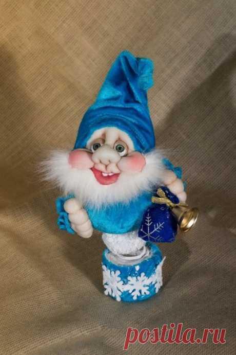 Видео мастер класс Чулочная кукла Новогодний гном на пружинке - РУКОДЕЛИЕ - HAND MADE - Группы Мой Мир