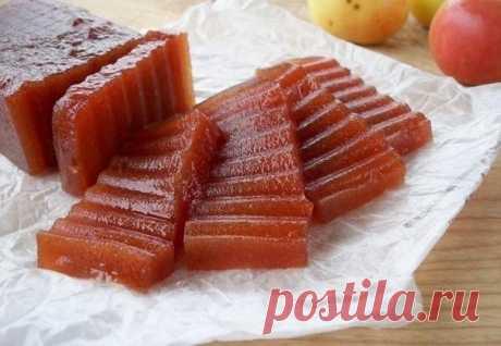 Apple fruit jelly