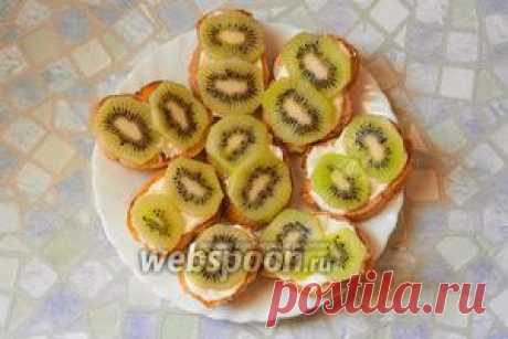 Бутерброды с киви и чесноком рецепт с фото, как приготовить на Webspoon.ru