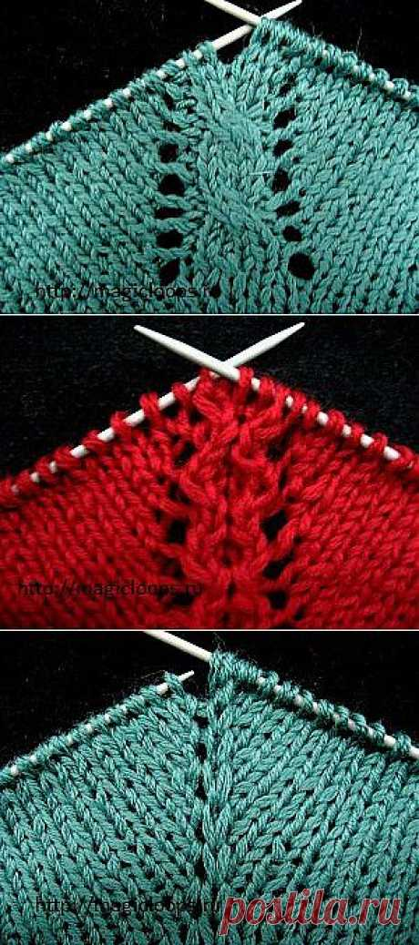 How to knit a raglan from a mouth?.
