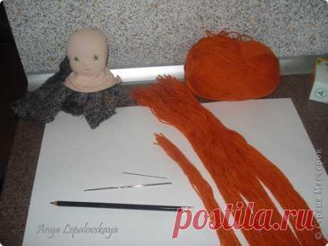 УРОК 3 МАстер-класс по шитью простой вальдорфской куклы со статичной прической