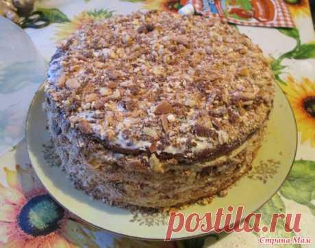"""Любимый торт моих друзей (почти """"Крещатый Яр"""", но не совсем...) - Страна Мам"""