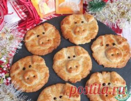 """Ореховое печенье """"Поросята"""" – кулинарный рецепт"""