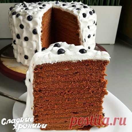 De chocolate medovik: una nueva receta de la torta con smetannym o la crema cocida