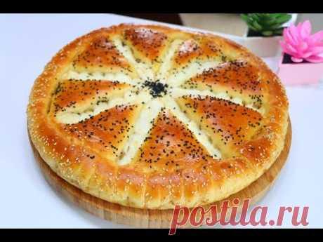 Турецкий пирог, вкусный утренний завтрак