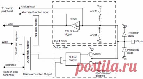 Уроки STM32. Порты ввода-вывода STM32. | Оборудование, технологии, разработки
