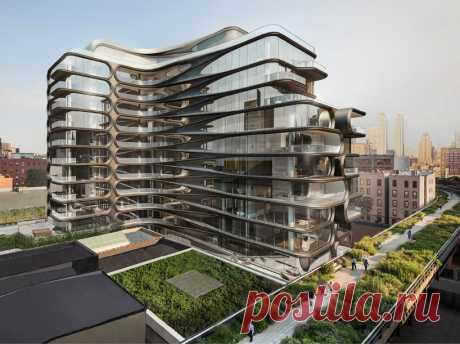 Проект элитного дома в Нью-Йорке от Zaha Hadid (Интернет-журнал ETODAY)