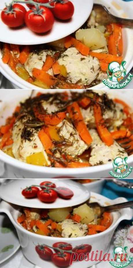 Жаркое из индейки в горшочке - кулинарный рецепт