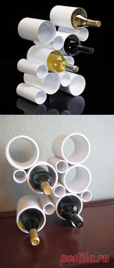 Подставка под бутылки (мастер-класс)