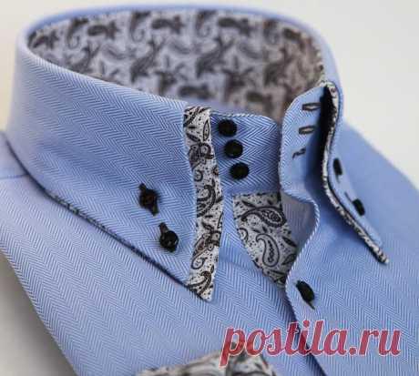 Модный разговор.: Мода на воротники мужских рубашек