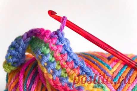 Способ вязания без поворота полотна + как еще ускорить ручное вязание: набор секретов