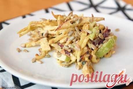 Салат из корня сельдерея: вкусно, сытно и полезно