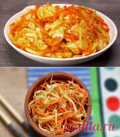 Овощная закуска на миллион - пикантная капуста по-корейски. Она всегда украшает мой стол! - be1issimo.ru