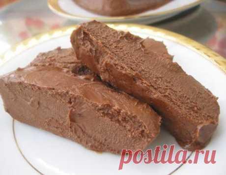 Шоколадное масло – кулинарный рецепт