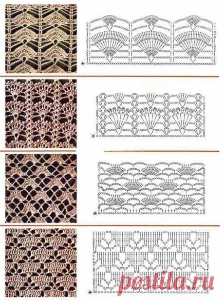 Вязание крючком. Схемы.Рукоделие. | Саблина Олеся | Яндекс Дзен