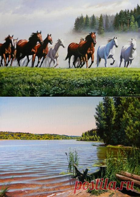 Белорусский художник Юрий Зосич