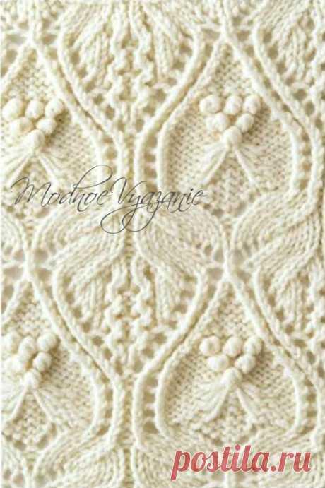 Японские ажурные узоры - коллекция №1 - Модное вязание
