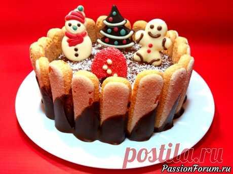 НОВОГОДНИЙ ТОРТ - запись пользователя NataliGr (Наталья) (Наталья) в сообществе Болталка в категории Кулинария Здравствуйте,девочки!!!У меня сегодня невероятно вкусный торт без выпечки украсит любой праздничный стол.Получается мягким, легким, ароматным и очень вкусным. Рецепт очень простой и легкий.