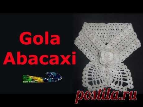 Gola Abacaxi - Crochê do Brasil