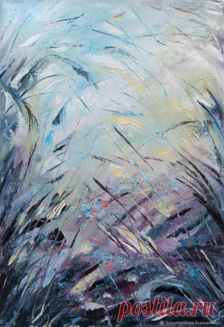 Теплый ветер – купить на Ярмарке Мастеров – F0F83RU | Картины, Тула Теплый ветер в интернет-магазине на Ярмарке Мастеров. Картина написана маслом на холсте мастихином.
