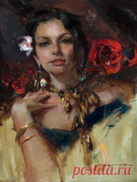 Daniel F. Gerhartz. Американская современная живопись