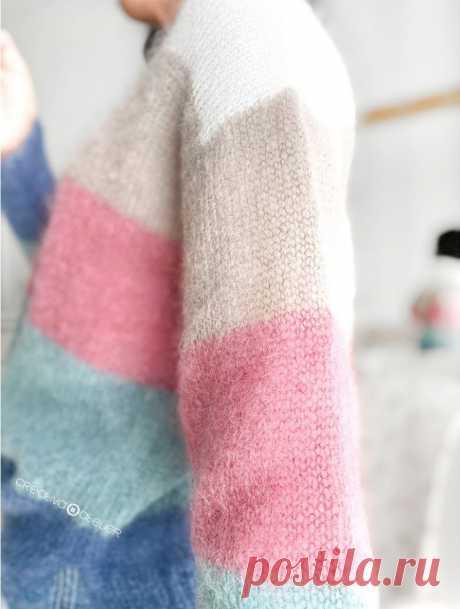 Jersey de Punto CANDY CLOUD - Patrón y Tutorial - Creativa Atelier