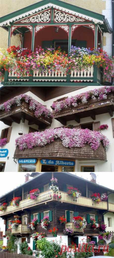 Украсим-ка наши балконы?