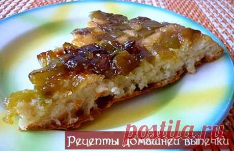 Пирог из ревеня рецепт | Рецепты домашней выпечки