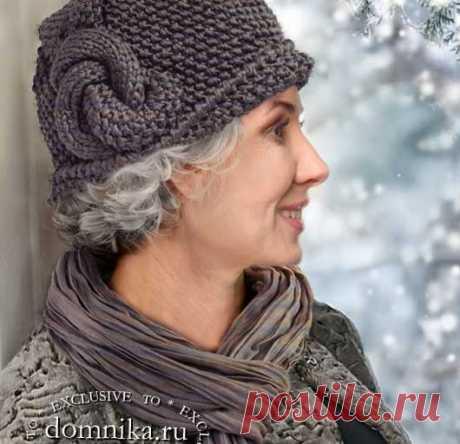 Стильные шапки, шляпки и береты для женщин 60 лет - схемы вязания и описание бесплатно